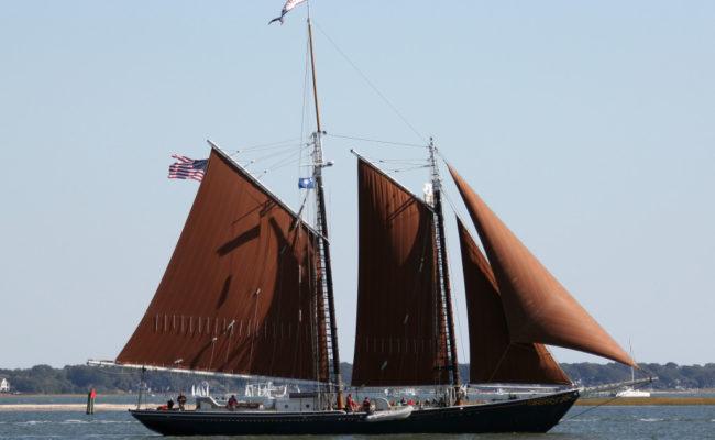 Sailing the Harbor, Charleston, SC